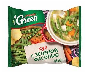 Суп с зеленой фасолью ТМ Морозко Green (Грин)