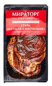 Стейк из свинины в маринаде Котлета с косточкой Мираторг 400г