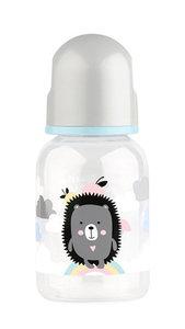 Бутылочка с соской Lubby Малыши и малышки от 0 мес 120-125мл классика/полипропилен арт12023/144/12