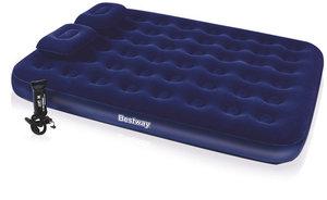 Матрас надувной ручной насос  2 подушки в комплекте 203х152х22 см, 67374