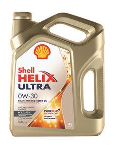Масло моторное Shell Helix синтетическое Shell ultra ect C2/C3 0W30 4л