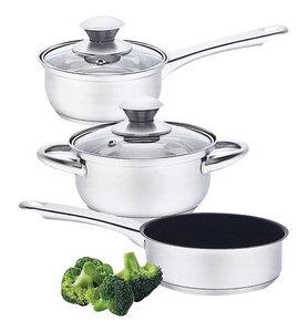Набор посуды из нержавеющей стали Attribute Steel Lily 5предметов