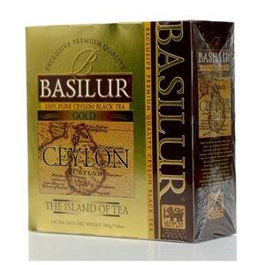 Чай черный ТМ Basilur (Басилюр) Ceylon, 100 пакетиков