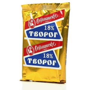 Творог 18% ТМ Останкинское