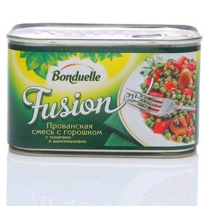 Прованская смесь с горошком, с томатами и шампиньонами консервированная ТМ Bonduelle (Бондюэль)