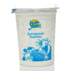 Сметанный продукт Домашняя буренка 15% ТМ Янино