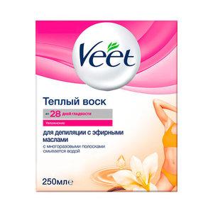 Теплый Воск для Депиляции с Эфирными Маслами ТМ Veet (Вит)