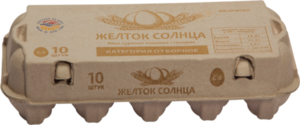 Яйцо куриное СО Аксайская ПФ 10шт