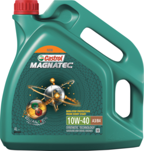 Масло моторное синтетическое Magnatec 10W-40 А3/В4 ТМ Castrol (Кастрол)