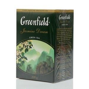 Чай зеленый  Jasmine Dream (Жасмин Дрим) листовой ТМ Greenfield (Гринфилд)