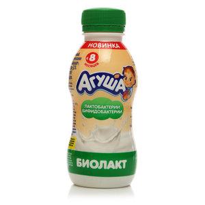 Напиток кисломолочный Биолакт 3,2% с 8 мес ТМ Агуша