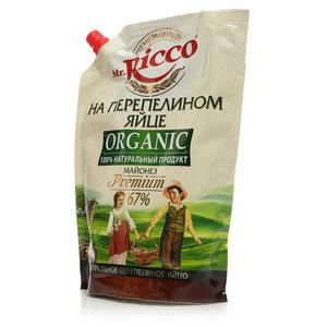 Майонез на перепелином яйце Premium 67% ТМ Mr.Ricco (Мистер Рикко)