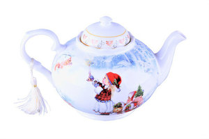 Чайник заварочный Новогодние подарки 1000мл