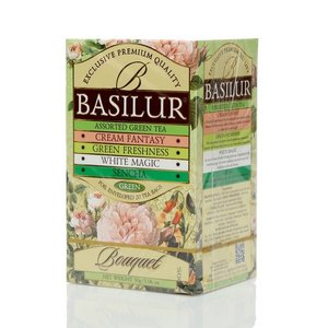 Чай зеленый ТМ Basilur (Басилюр) Коллекция Букет ассорти, 20 пакетиков