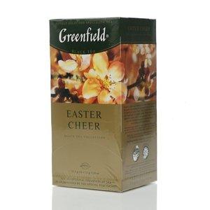 Чай черный байховый ТМ Greenfield (Гринфилд) Easter Cheer, 25 пакетиков