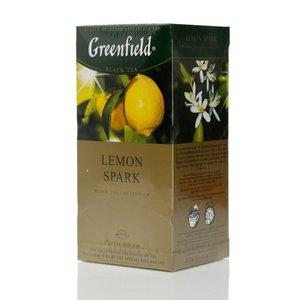 Чай черный байховый Lemon Spark 25*1,5г ТМ Greenfield (Гринфилд)
