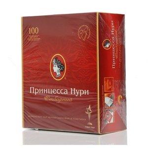 Чай черный цейлонский отборный в пакетиках 100*2г ТМ Принцесса Нури