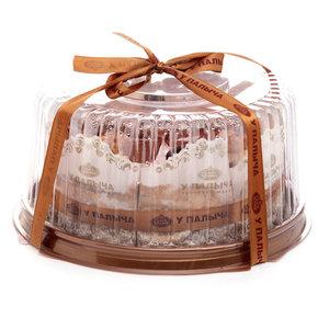 Торт Медовая Фантазия с грецким орехом бисквитный ТМ У Палыча