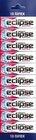 Жевательная резинка Ледяная вишня 10 пачек ТМ Eclipse (Эклипс)