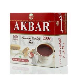Чай черный цейлонский Mountain Fresh (Маунтин Фреш) 2 г*100 шт ТМ Akbar (Акбар)