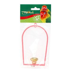 Игрушка для птиц Качели с колокольчиком ТМ Triol (Триол)