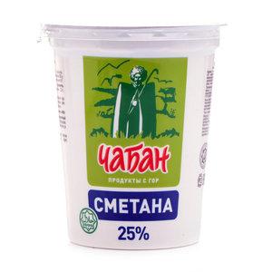 Сметана 25% ТМ Чабан