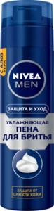 Пена для бритья Защита и Уход увлажняющая ТМ Nivea (Нивея)