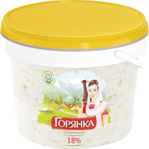 Продукт молокосодержащий по технологии творога 18% ТМ Горянка