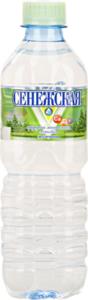 Вода минеральная питьевая природная столовая ТМ Сенежская