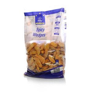 Дольки картофельные со специями замороженные TM Horeca Select (Хорека Селект)
