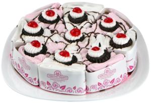 Торт бисквитный Вишневая классика ТМ Невские берега