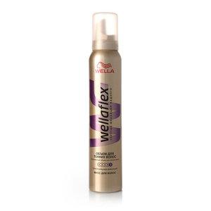 Мусс для волос суперсильная фиксация Wellaflex Объем для тонких волос ТМ Wella (Велла)