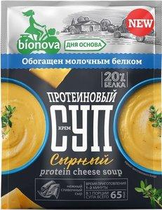 Крем-суп протеиновый сырный ТМ Bionova (Бионова)