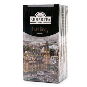 Чай черный Earl Grey (Эрал Грей) 25х2г ТМ Ahmad Tea (Ахмад Ти)
