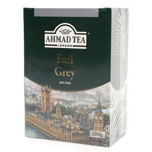 Чай черный Earl Grey (Эрал Грей) листовой с бергамотом ТМ Ahmad Tea (Ахмад Ти)