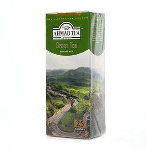 Чай зеленый классический листовой 25х2г ТМ Ahmad Tea (Ахмад Ти)