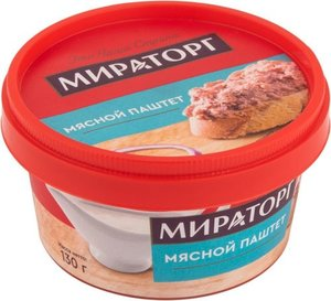 Мясной паштет ТМ Мираторг