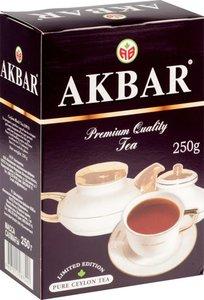 Чай черный байховый цейлонский крупнолистовой ТМ Akbar (Акбар)