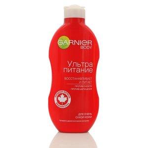 Молочко для тела Ультра питание для очень сухой кожи ТМ Garnier (Гарньер)