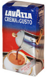 Кофе молотый Lavazza Crema e Gusto ТМ Lavazza (Лавацца) высший сорт