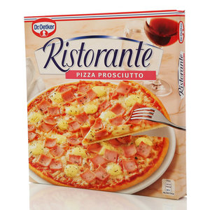 Пицца Ветчина Ristorante Prosciutto (Ристоранте Прошуто) ТМ Dr.Oetker (Др.Оеткер)