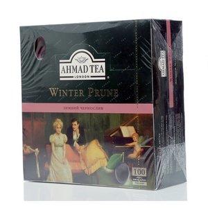 Чай черный байховый ТМ Ahmad Tea (Ахмад Ти) Winter Prune, 100 пакетиков