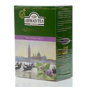 Чай зеленый байховый весенняя мята ТМ Ahmad Tea (Ахмад Ти)