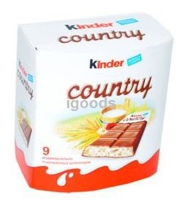 Шоколад ТМ Kinder Country