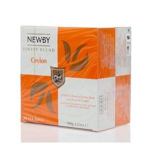 Чай черный байховый Ceylon 50*2г ТМ Newby (Ньюби)