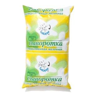 Сыворотка пастеризованная молочная ТМ Снежок