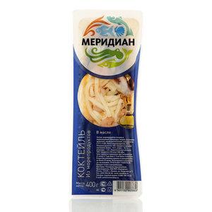 Коктейль из морепродуктов в масле ТМ Меридиан