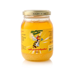Мед разнотравье ТМ Матушка пчела