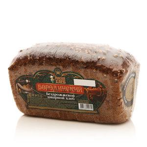 Хлеб Бородинский бездрожжевой заварной в нарезке ТМ Рижский Хлеб