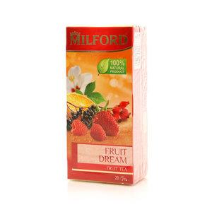 Чай фруктовый 20 пакетиков ТМ Milford (Милфорд)